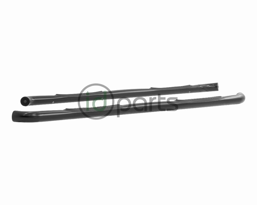 ARIES 203043 3-Inch Round Black Steel Nerf Bars Select Ford F-150 F-250 F-350 Super Duty