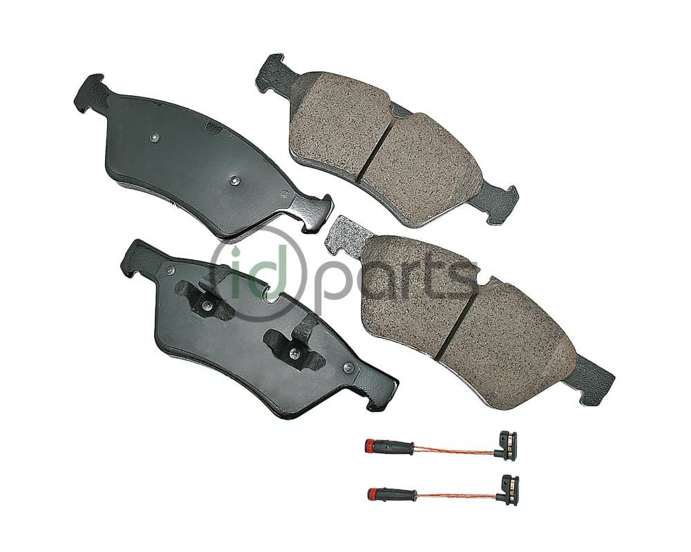 Akebono EURO Ultra Premium Ceramic Disc Brake Pad Kit - Front (W164)(X164)(W251)