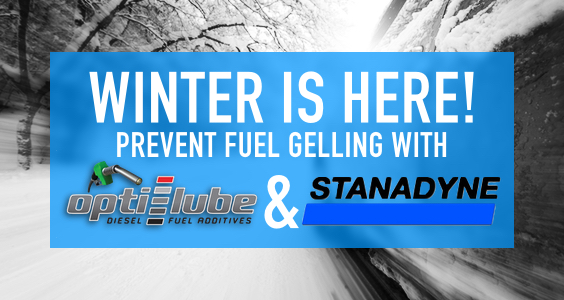 Prevent Fuel Gelling this Winter