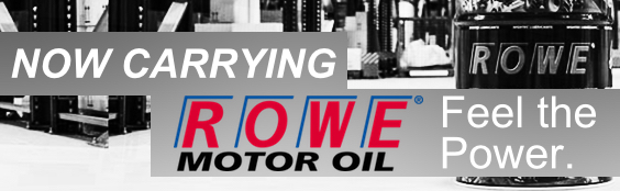 ROWE Lubricants are here!