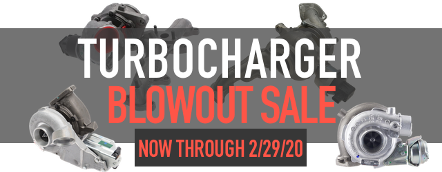 Turbochargers Blowout Sale