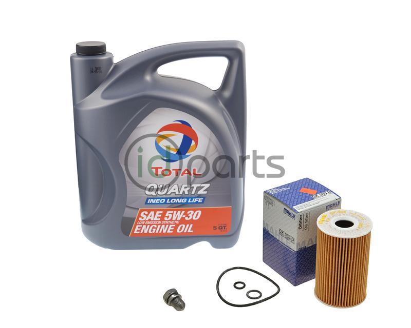 passat engine oil change