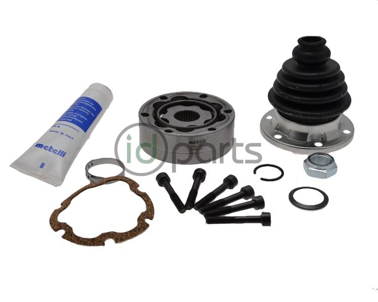 Inner CV Joint and Boot Kit - Left [Metelli] (A4 ALH Manual)
