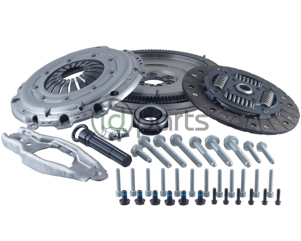 If You Need To Replace The Clutch On Your High Mileage TDI And Want Convert A Single Mass Flywheel Setup This Is Where Start