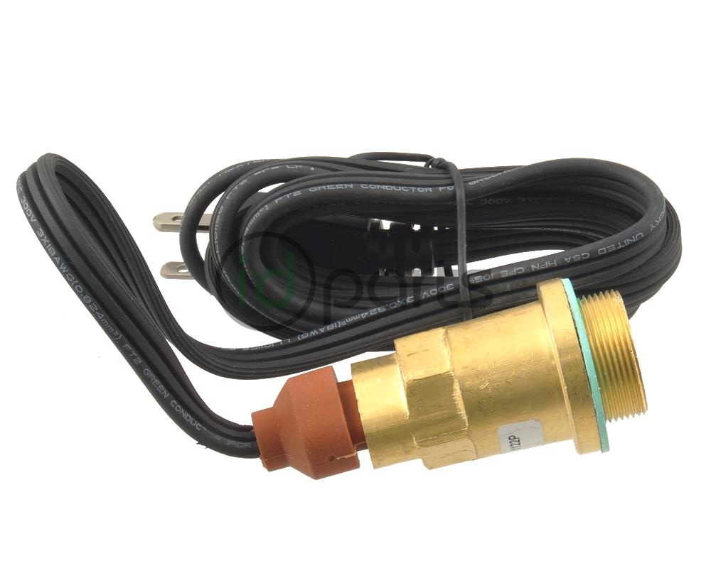 Engine block heater and cord for the Jeep Liberty CRD.