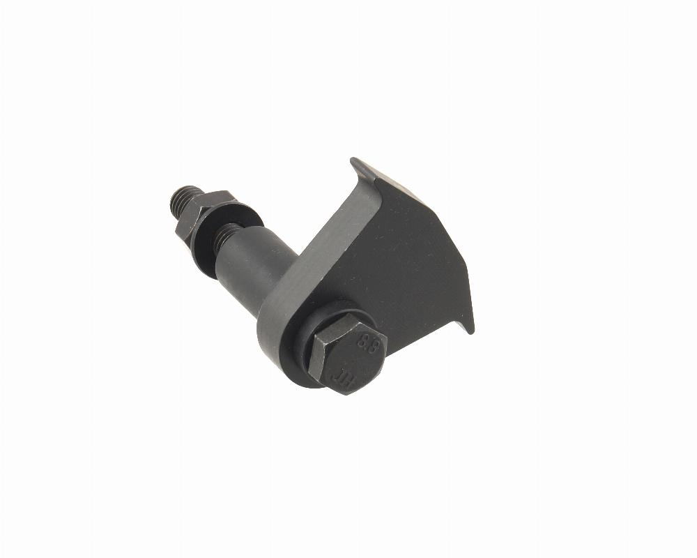 This handy tool holds the flywheel from rotating when removing and  installing flywheel and clutch bolts. Not recommended for removing or  installing crank ...