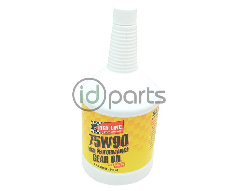 Redline 75w90 gear oil