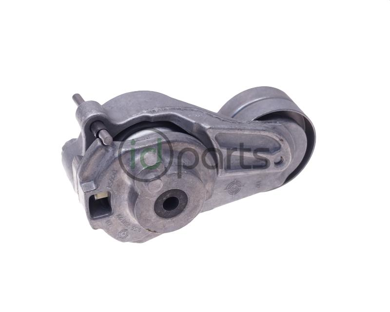 serpentine belt tensioner. serpentine belt tensioner for the 3.0l v6 diesel engine, code om642, used in mercedes, sprinter and jeep grand cherokee crd.