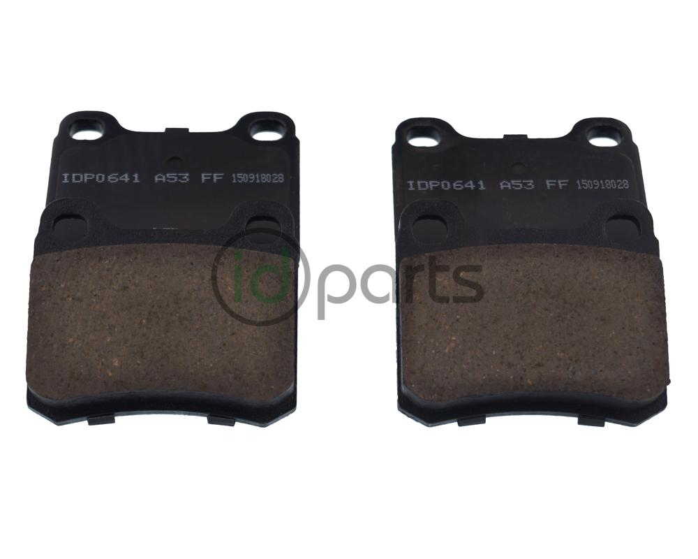 IDParts Ceramic Rear Brake Pads (W124) Picture 2
