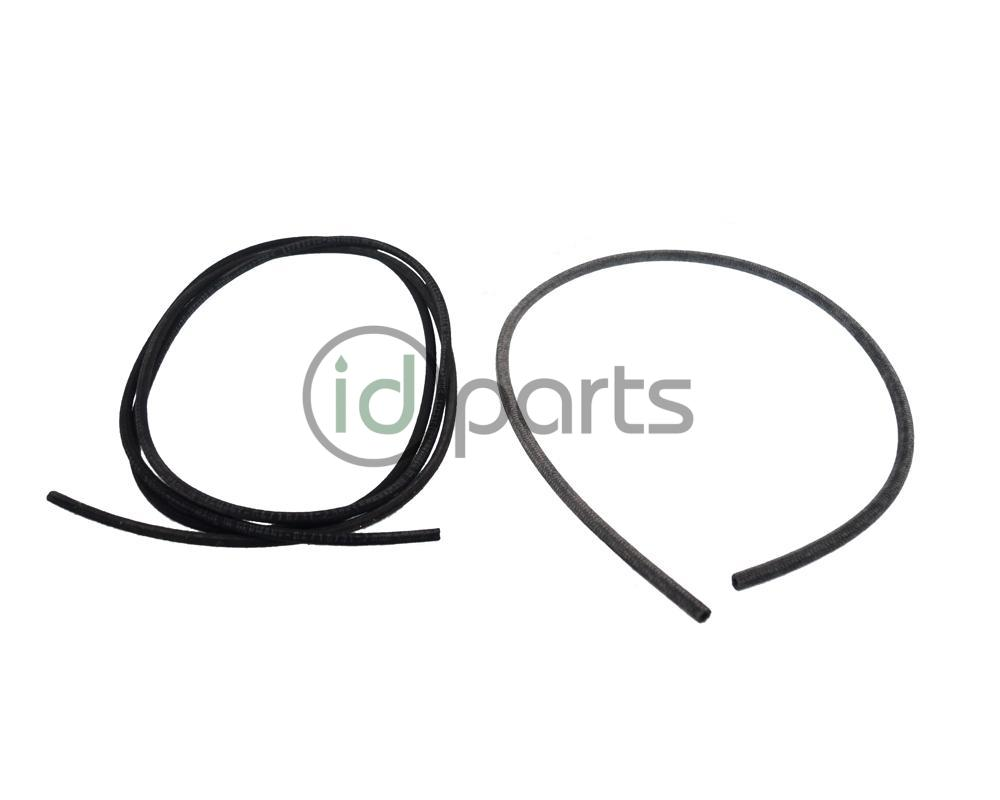 this kit will allow you to replace all vacuum lines in any 1999 5-2003 jetta  tdi, golf tdi or 1998-2003 new beetle tdi  braided cloth exterior to  protect