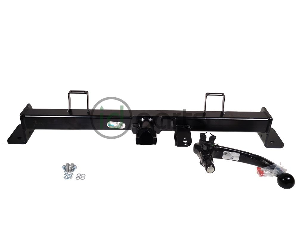 This swan neck hitch is an elegant way to add up to 1500kg towing capacity  to your F15 chassis BMW X5 diesel, including xDrive models and wagon models.