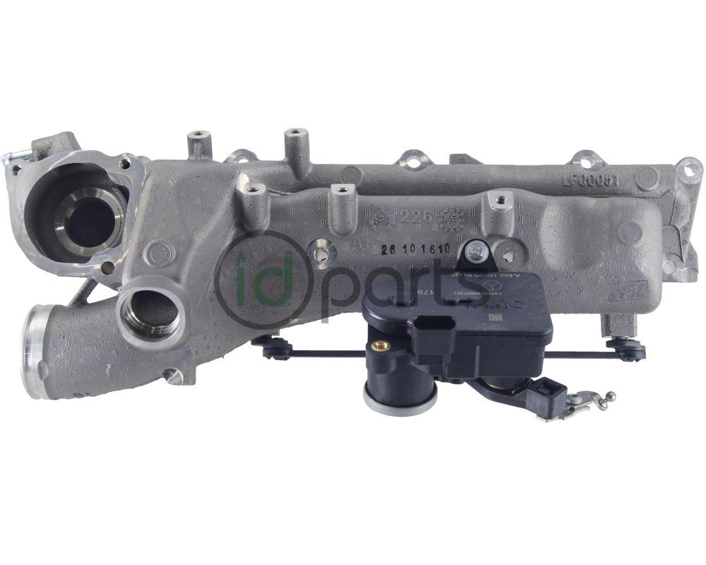 Intake Manifold w/ Swirl Flap Motor Right Side (WK OM642)(OM642 early)