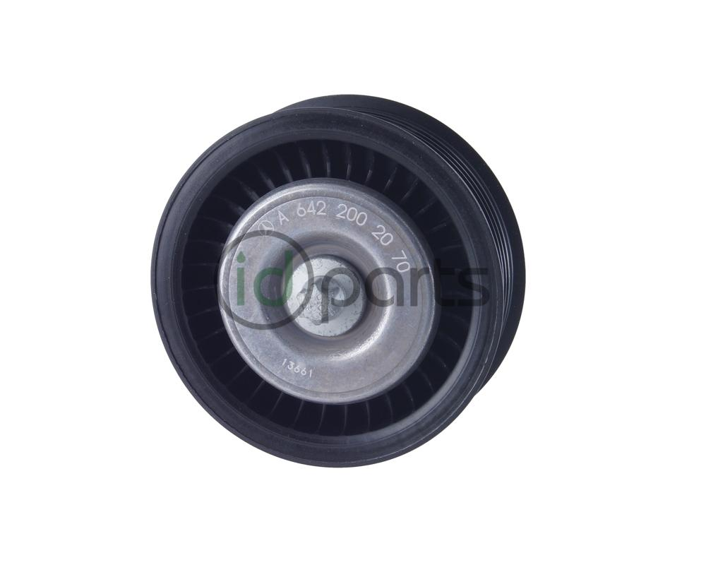 Grooved Serpentine Idler Pulley (W166)(X166) Picture 1