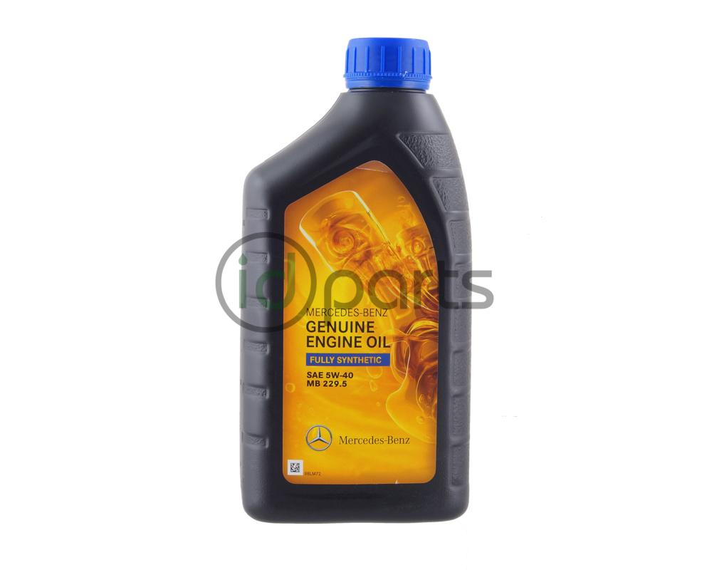 Mercedes-Benz Fully Synthetic 229 5 5w40 Engine Oil