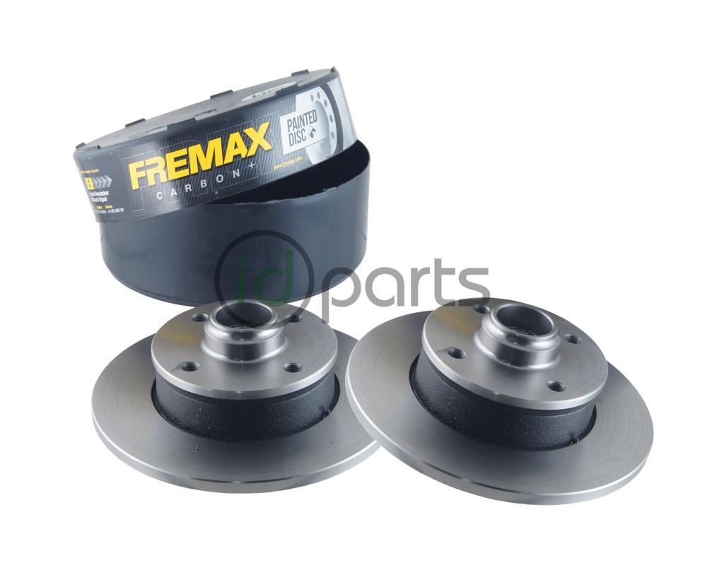 Fremax Rear Rotor Pair B4 357615601 Bd3393 Idparts Com