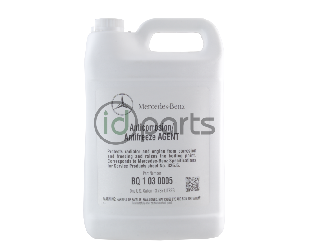 OE coolant for Mercedes Benz vehicles produced after April of 2014 that  require the 325.5 specification. This coolant is pink in color, earlier  model ...