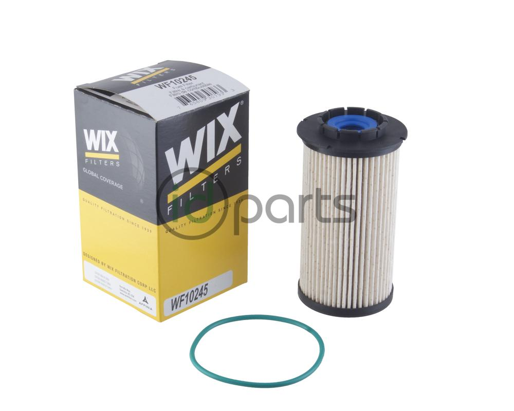 WIX fuel filter for the 2014+ Dodge Ram 1500 3.0L Ecodiesel. 3-micron  rating. Not for gasoline models.