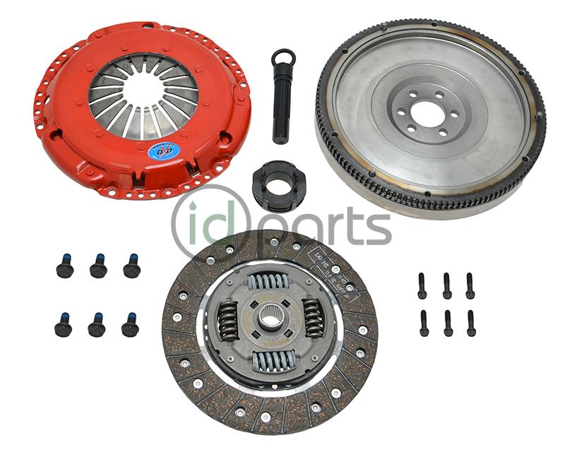 SBC Stage 2 Daily Clutch Kit w/SMF (5-Speed) Picture 1