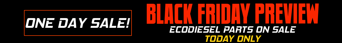 Black Friday Preview Sale EcoDIesel
