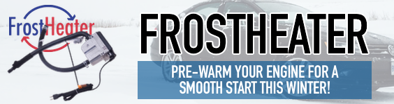 Pre-warm your engine with a FrostHeater!