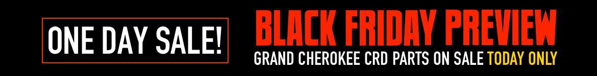 Black Friday Preview Sale Grand Cherokee CRD