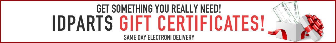 IDParts Gift Certificates