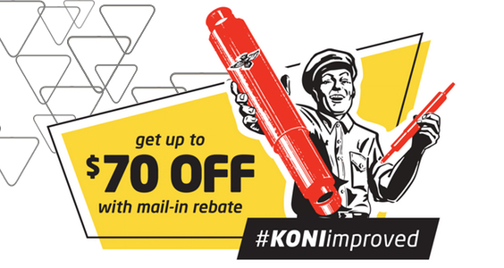 KONI Rebate is Back!