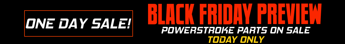 Black Friday Preview Sale Powerstroke