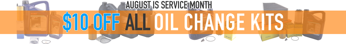 $10 off all oil change kits