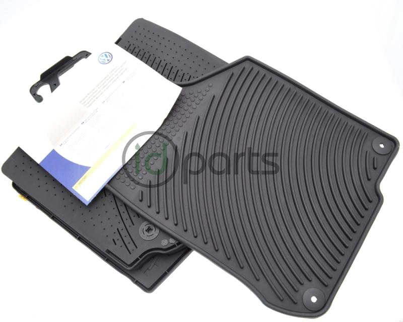 Monster Rubber Floor Mats (A4 Jetta Golf New Beetle) Picture 1