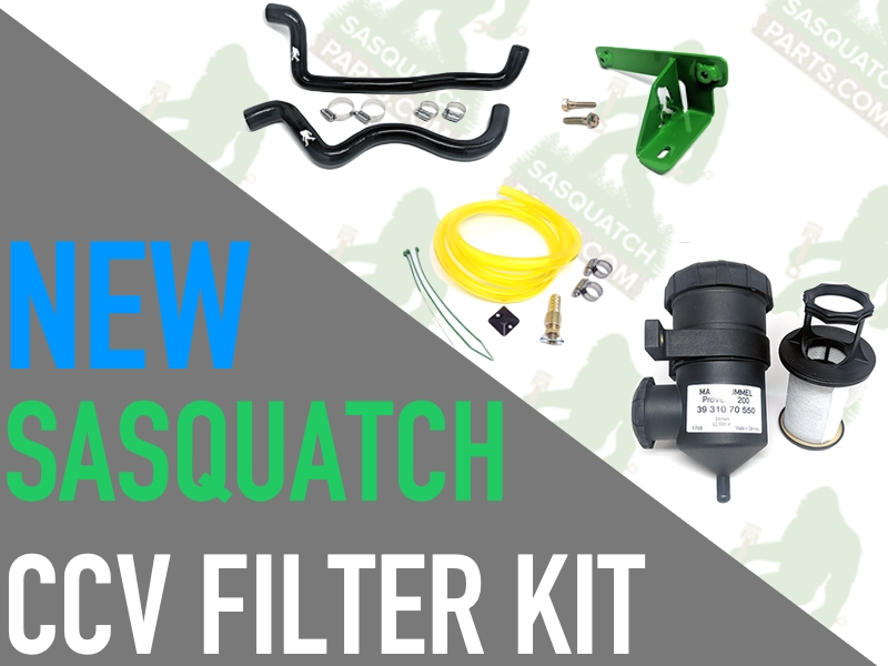 **CRD** NEW CCV Filter Kit from Sasquatch!