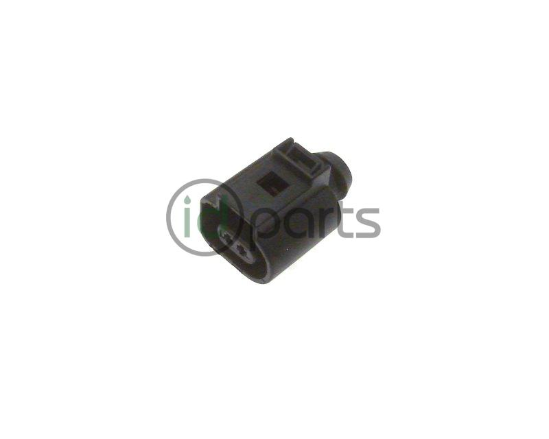 VW 2-Pin Electrical Connector - 1J0973702 - 1J0973702 - IDParts.com