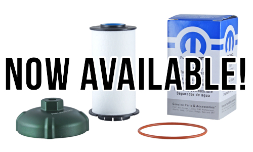 Now Offering Ram Ecodiesel Fuel Filter Replacement Kit