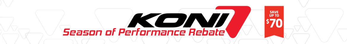 Koni Performance Rebate
