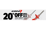 20% off KONI Shock Value Sale