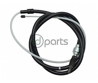 Emergency Parking Brake Cable (Early A4)
