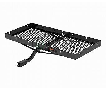 "48"" x 20"" Tray-Style Cargo Carrier (Fixed 1-1/4"" Shank with 2"" Adapter) -"