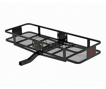 "60"" x 20"" Basket-Style Cargo Carrier (Fixed 2"" Shank) - Black"