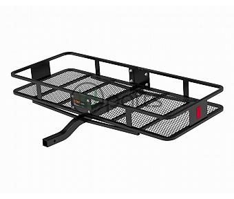 "60"" x 24"" Basket-Style Cargo Carrier (Fixed 2"" Shank) - Black"