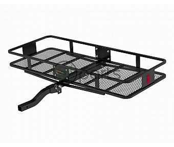 "60"" x 24"" Basket-Style Cargo Carrier (Folding 2"" Shank) - Black"