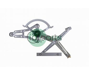 Front Left Power Window Regulator (W124)