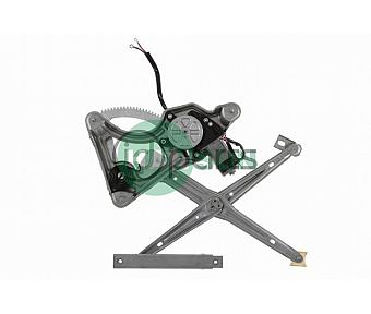 Front Left Side Window Regulator [w/ motor] (W126)