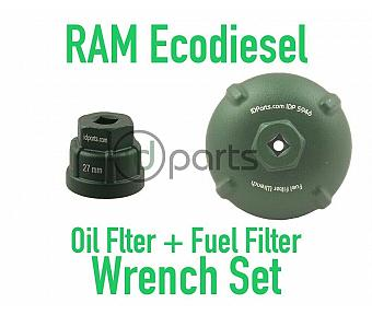 Ram Ecodiesel Fuel Filter & Oil Filter Wrench Set
