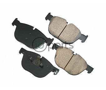 Akebono EURO Ultra Premium Ceramic Disc Brake Pad Kit - Front (E70)(F15)