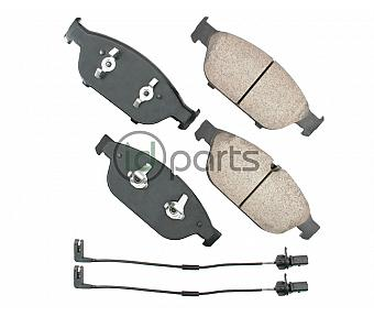 Akebono EURO Ultra Premium Ceramic Disc Brake Pad Kit - Front (C7)(D4)