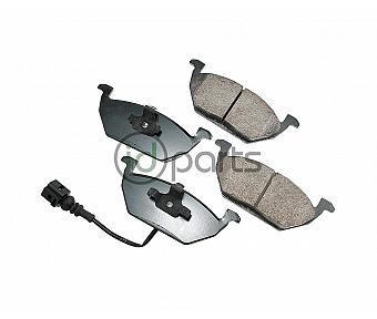 Akebono EURO Ultra Premium Ceramic Disc Brake Pad Kit - Front (A4)
