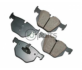 Akebono EURO Ultra Premium Ceramic Disc Brake Pad Kit - Rear (E70)(F15)