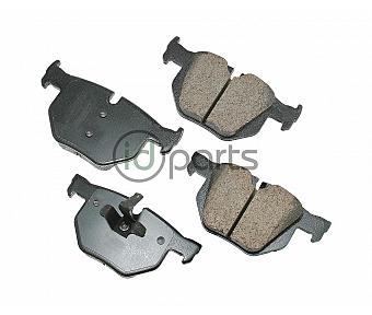 Akebono EURO Ultra Premium Ceramic Disc Brake Pad Kit - Rear (E90)