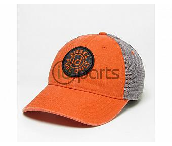 Diesel Fuel Only Trucker Hat - Orange