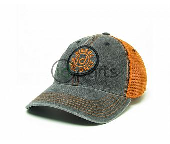 Diesel Fuel Only Trucker Hat - Gray/Orange